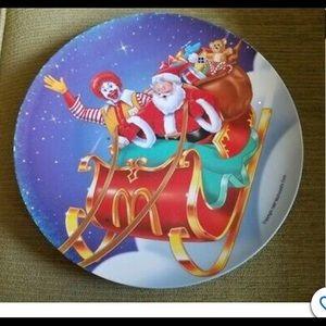 Vintage McDonald's plates